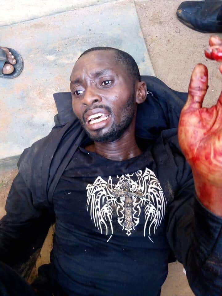 Photo Of Mentally-deranged Man Who Hacked Two Pupils To Death In Ogun State (2)