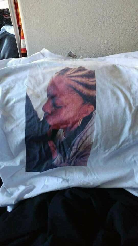 Man Caught His Girlfriend Cheating Prints It On His Shirt And Wears It To Work (4)