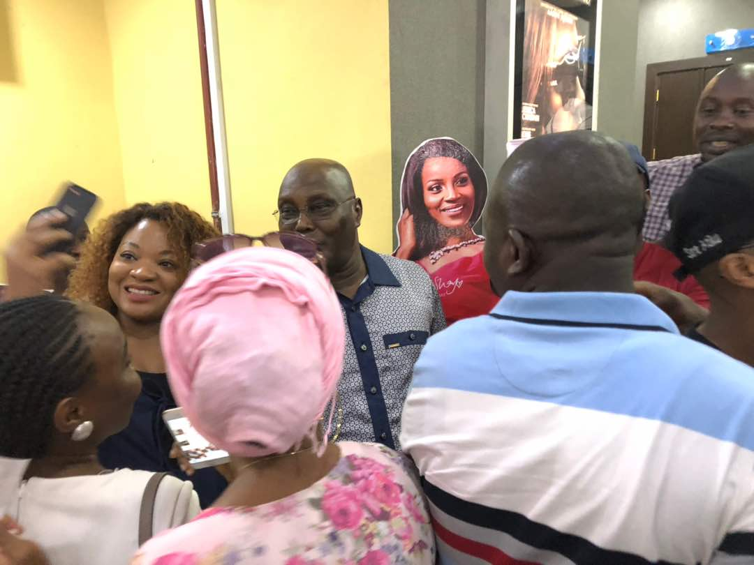 Atiku Abubakar Storms Silverbird Cinemas To Watch Black Panther (2)