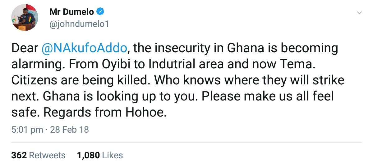 John Dumelo Calls Out Nana Akufo-Addo Over Robbery Attacks (2)