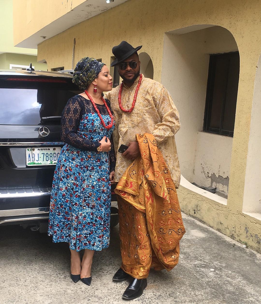 Monalisa Chinda And Bolanle Ninalowo Loved Up On Set Night Bus To Lagos (3)