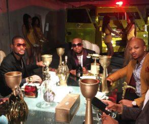 Charles Okocha Pictured With IK Ogbonna And Alex Ekubo