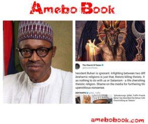 Church of Satan Blasts President Buhari