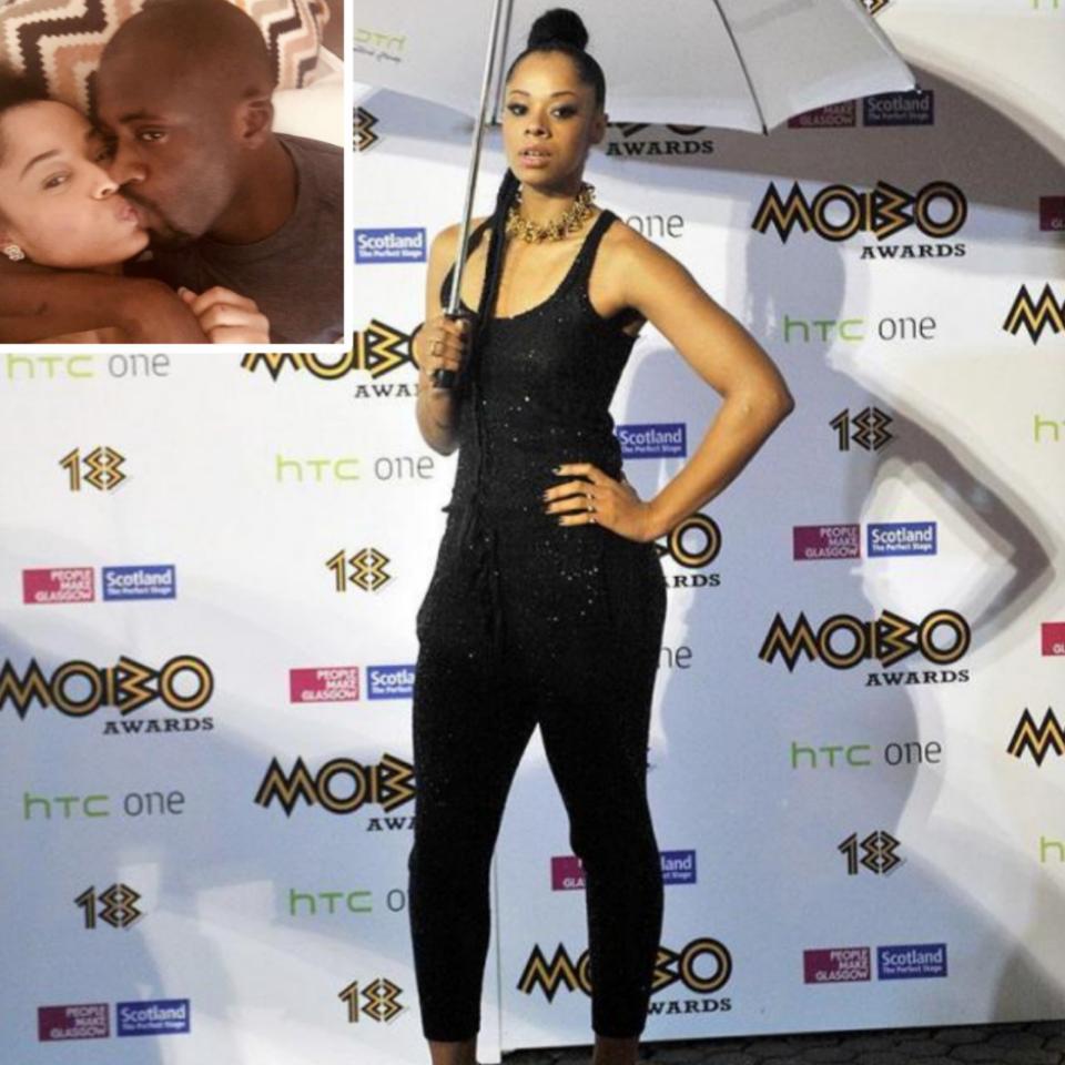 Yaya Toure Kissing Singer Tanika Bailey
