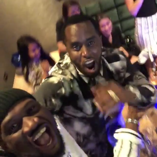 Peter Okoye Chilling With Diddy And Cassie In Abu Dhabi (5)