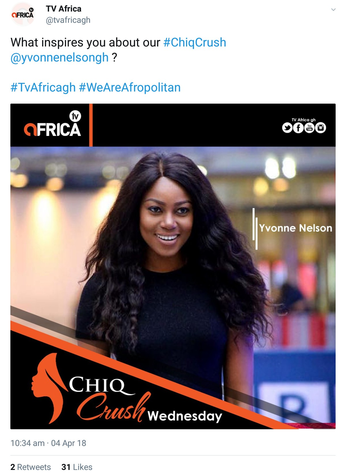 Yvonne Nelson Blasts TV Africa - I'm Not Your Crush In Anyway (2)