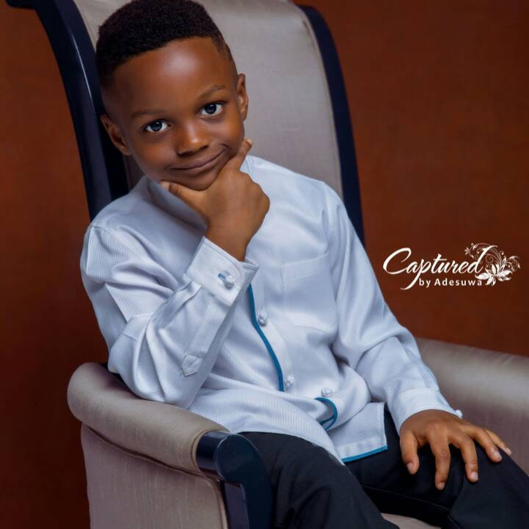 Paul Okoye And Wife Anita Celebrate Son Andre On His 5th Birthday (8)
