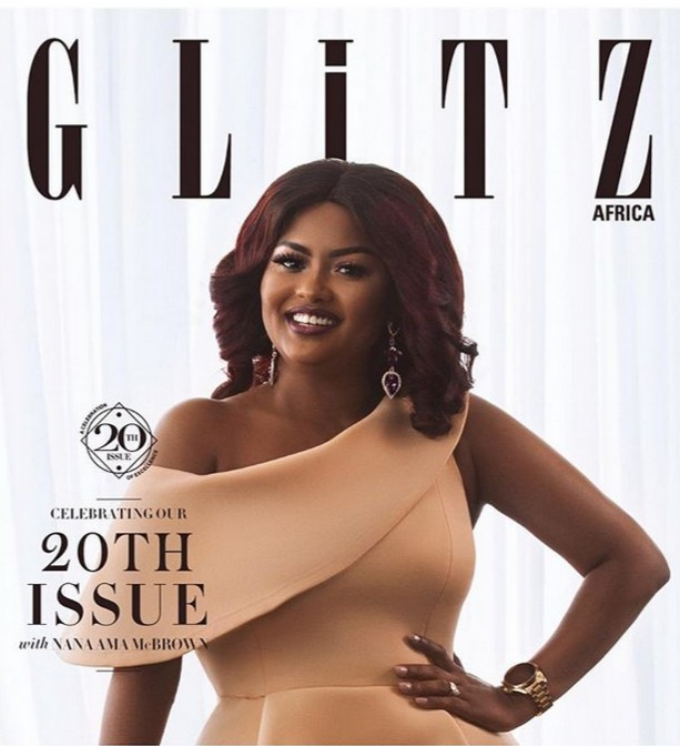 Nana Ama McBrown Cover Of Glitz Africa 20th Issue
