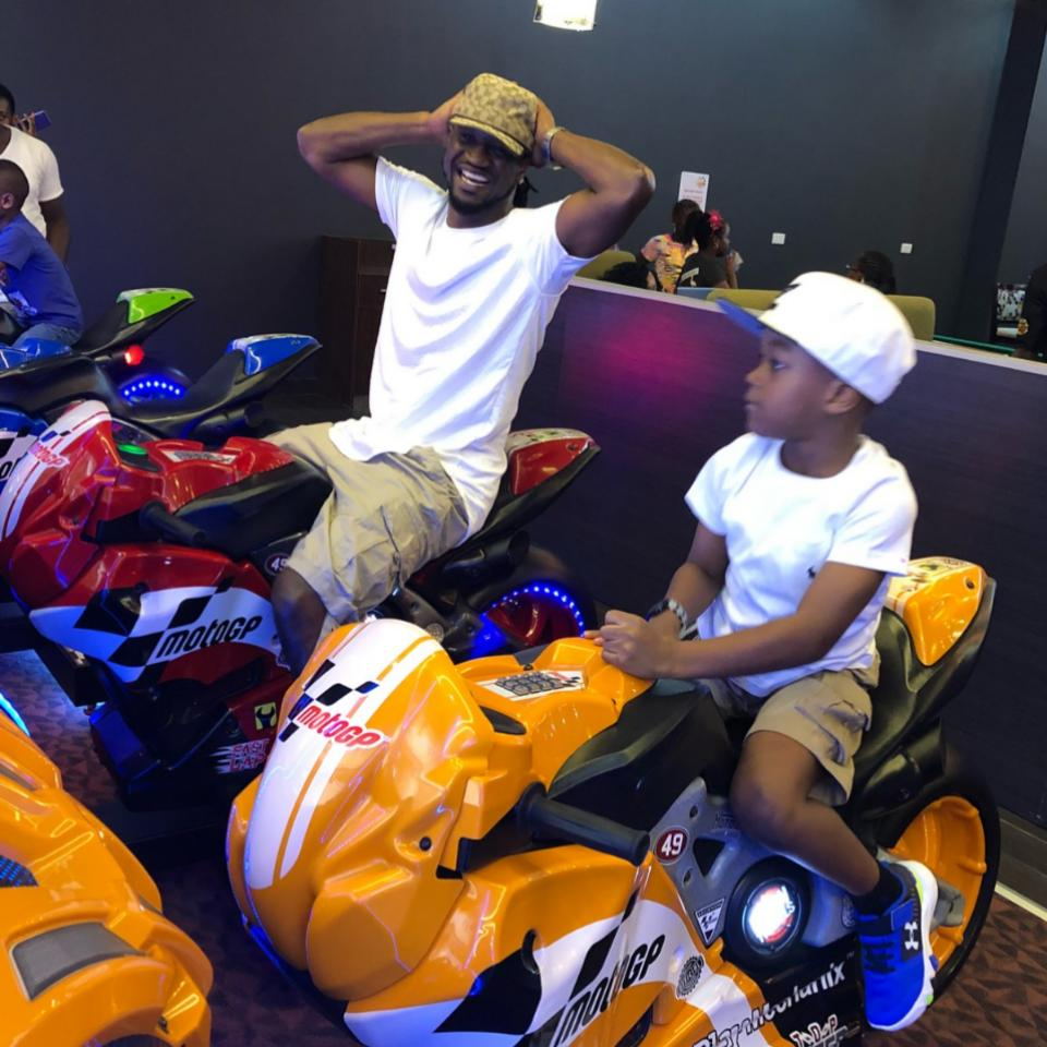 Paul Okoye And Son Are Twinning In Matching Outfits