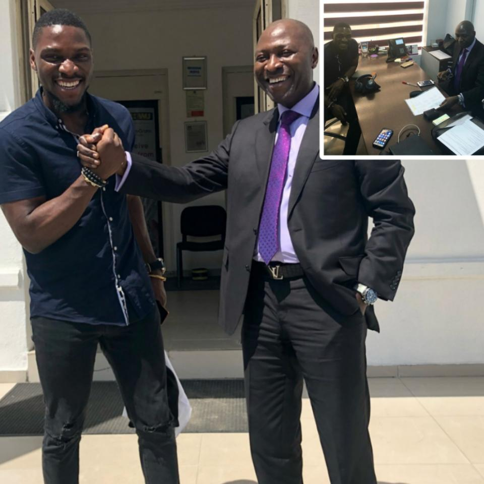 Tobi Bakre Had A Super Productive Meeting With His Father