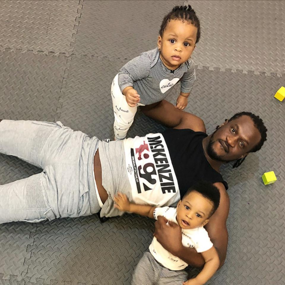 Paul Okoye Spends Quality Time With His Adorable Twins