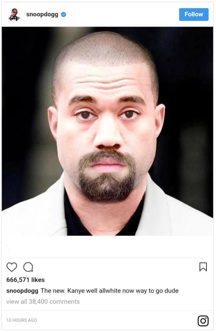 Photoshopped Image Of Kanye West As A White Dude (2)