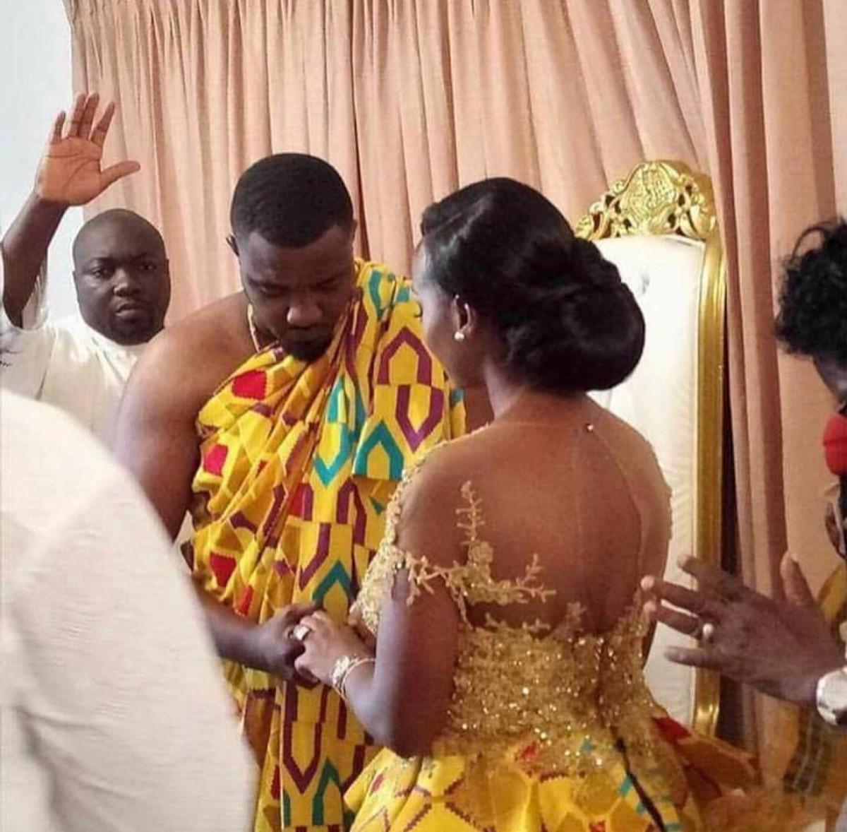 John Dumelo And Mawunya Traditional Wedding (8)