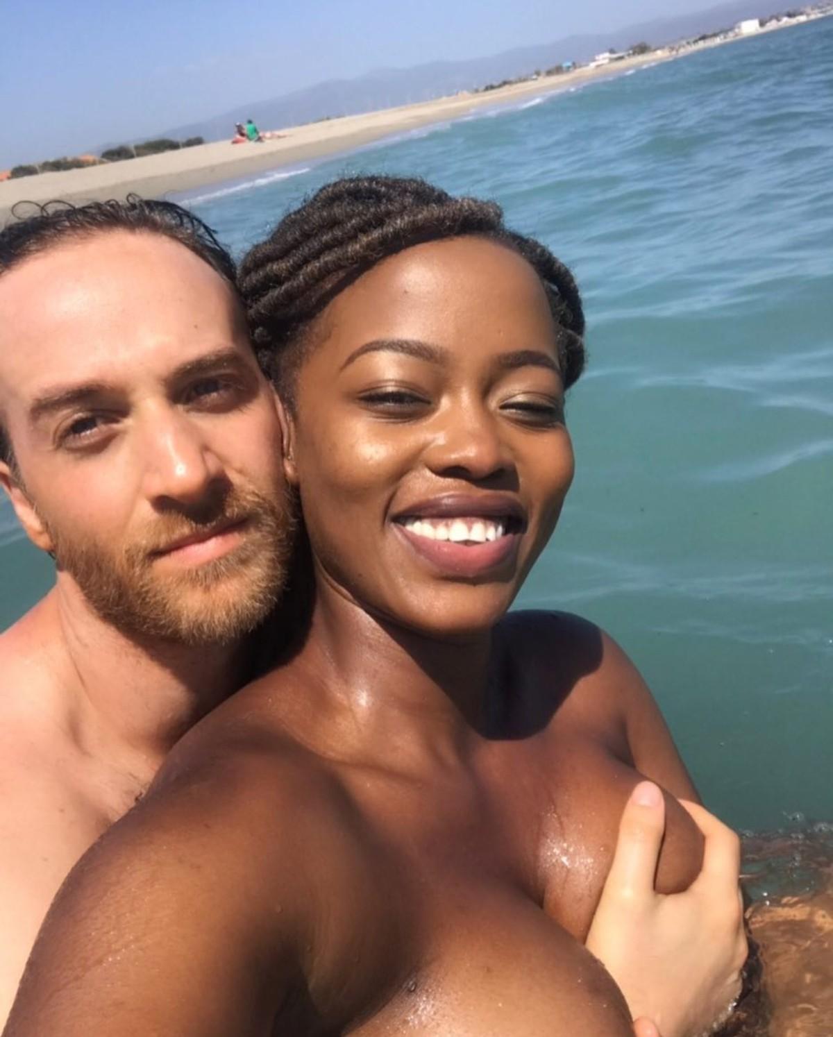 Corazon Kwamboka Has Her Bare Massive Boobs Grabbed By Boyfriend (2)