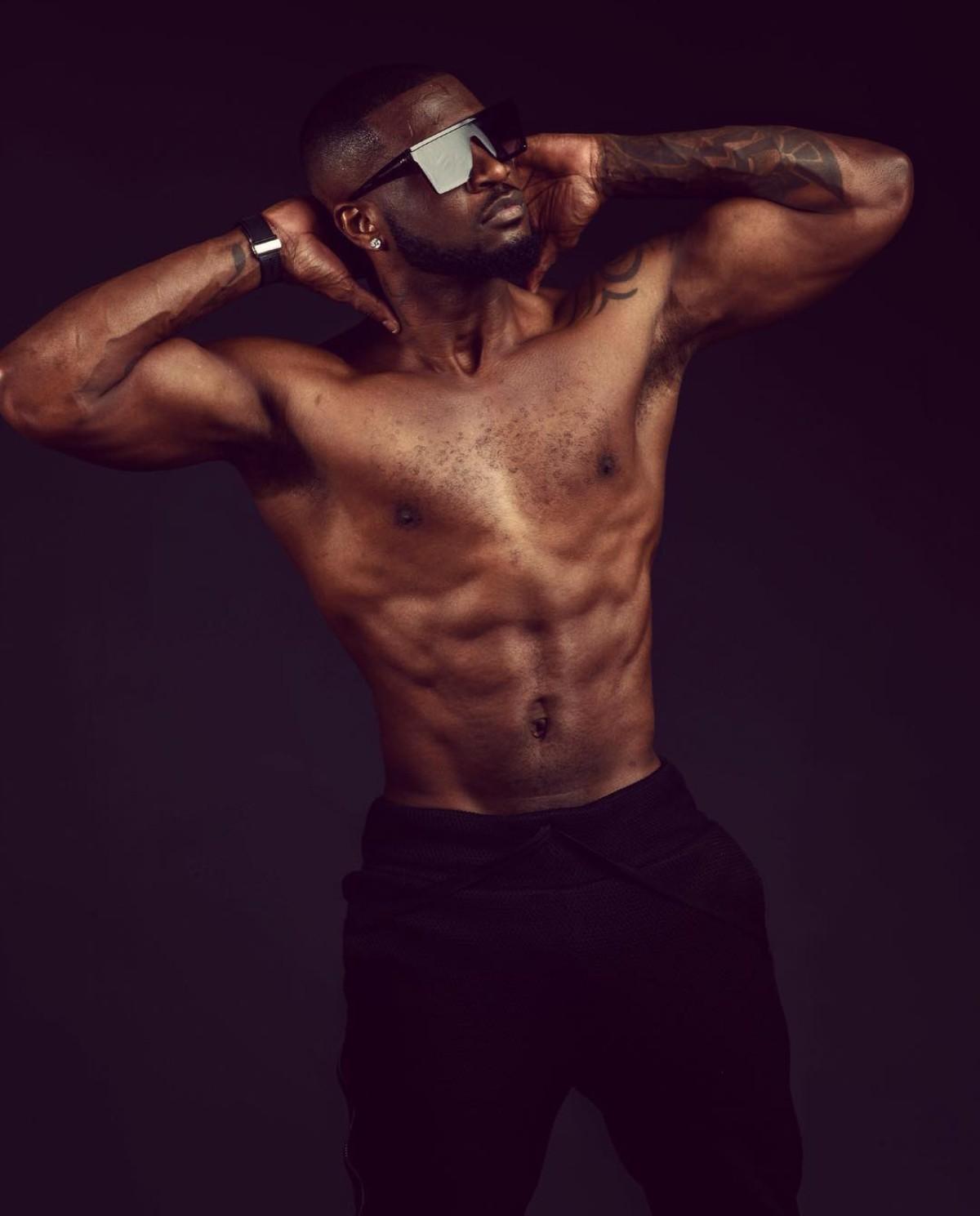 Peter Okoye Goes Shirtless In New Photo (2)