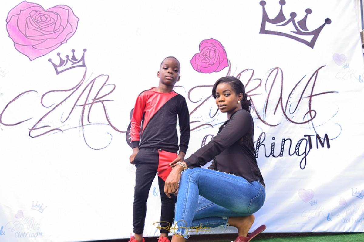 Shola Ogudu With Her Son Bolutife