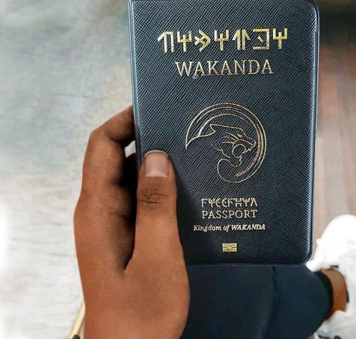 Wakanda Passport