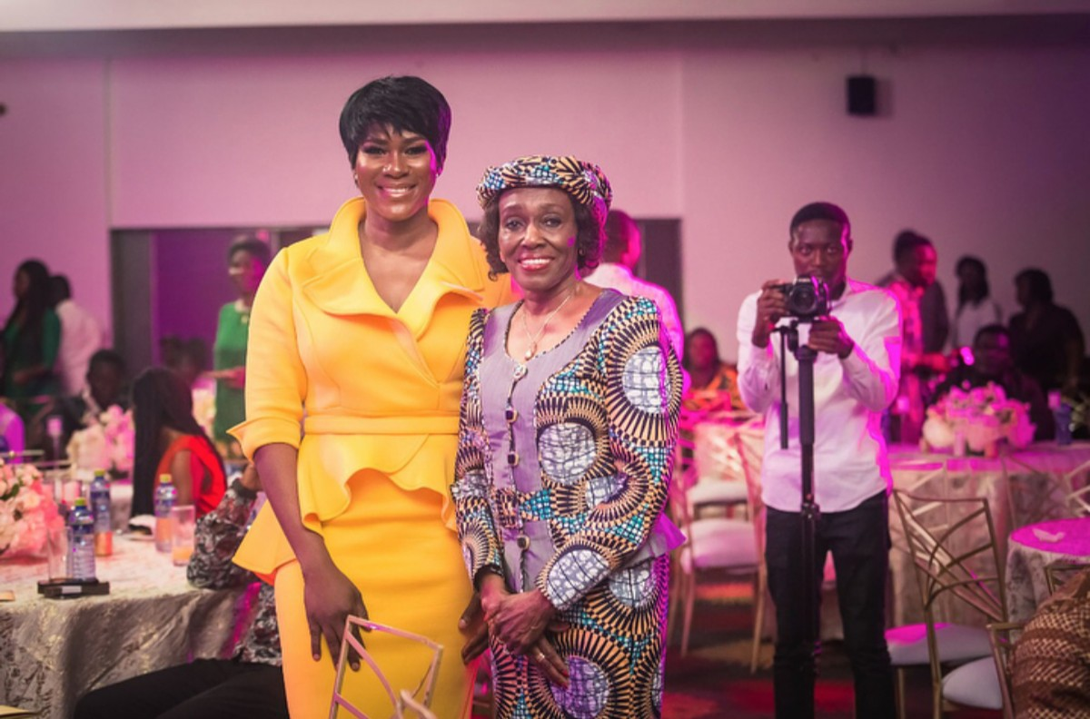 Stephanie Okereke Linus Dry Movie Screening In Ghana (2)