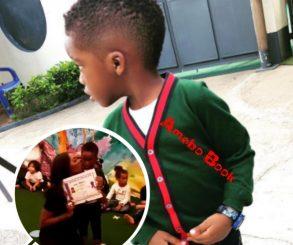 Tiwa Savage's Son Graduates From Kindergarten