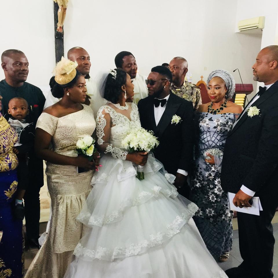 Nuella Njubigbo And Tchidi Chikere White Wedding