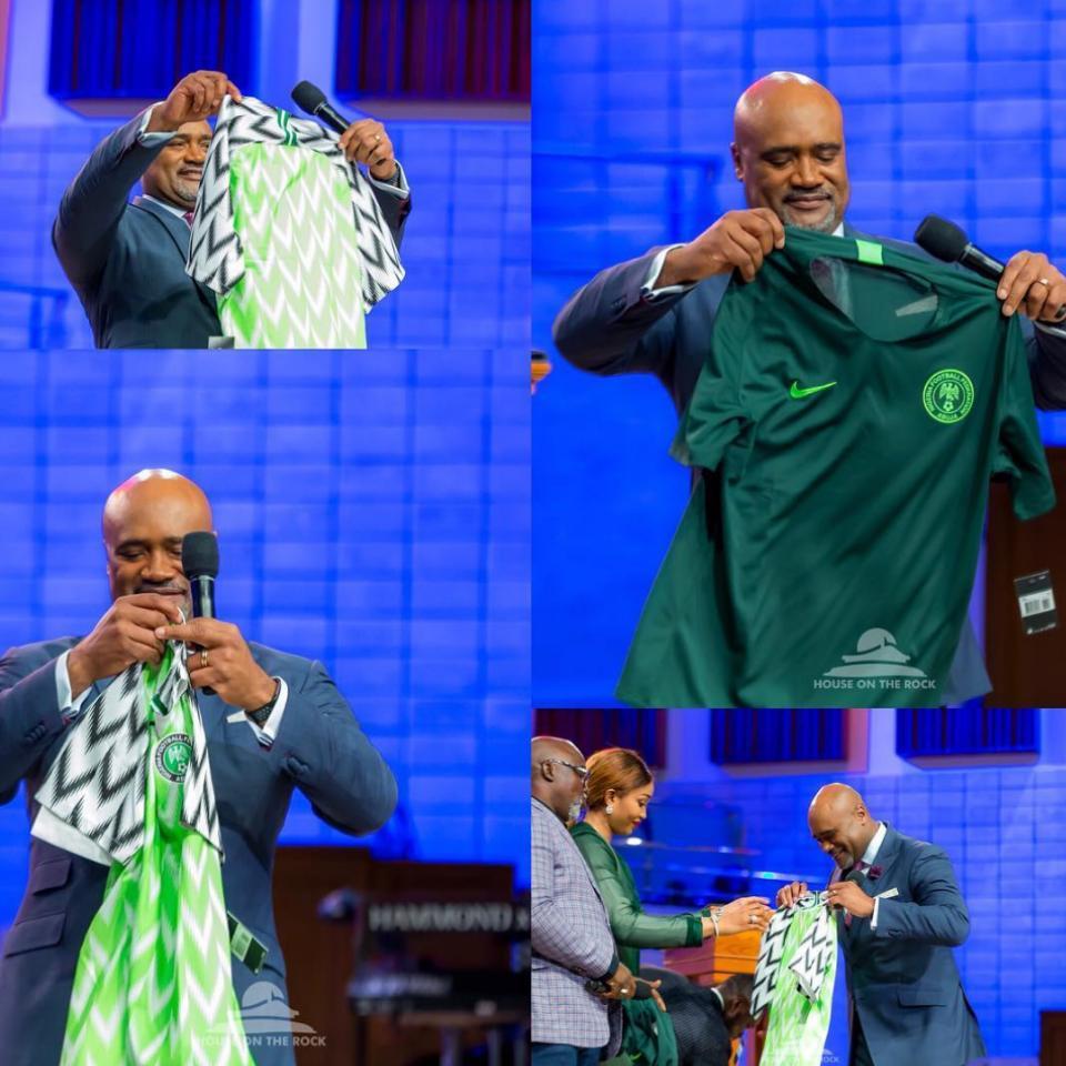 Pastor Paul Adefarasin Prays For Super Eagles