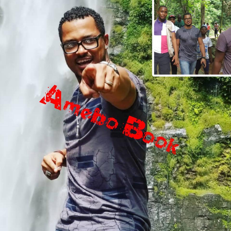 Van Vicker Visits Wli Waterfalls In The Volta Region
