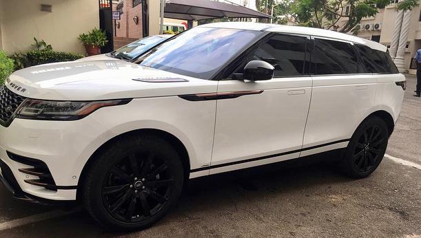 Ahmed Musa purchases 2018 Range Rover Velar (3)