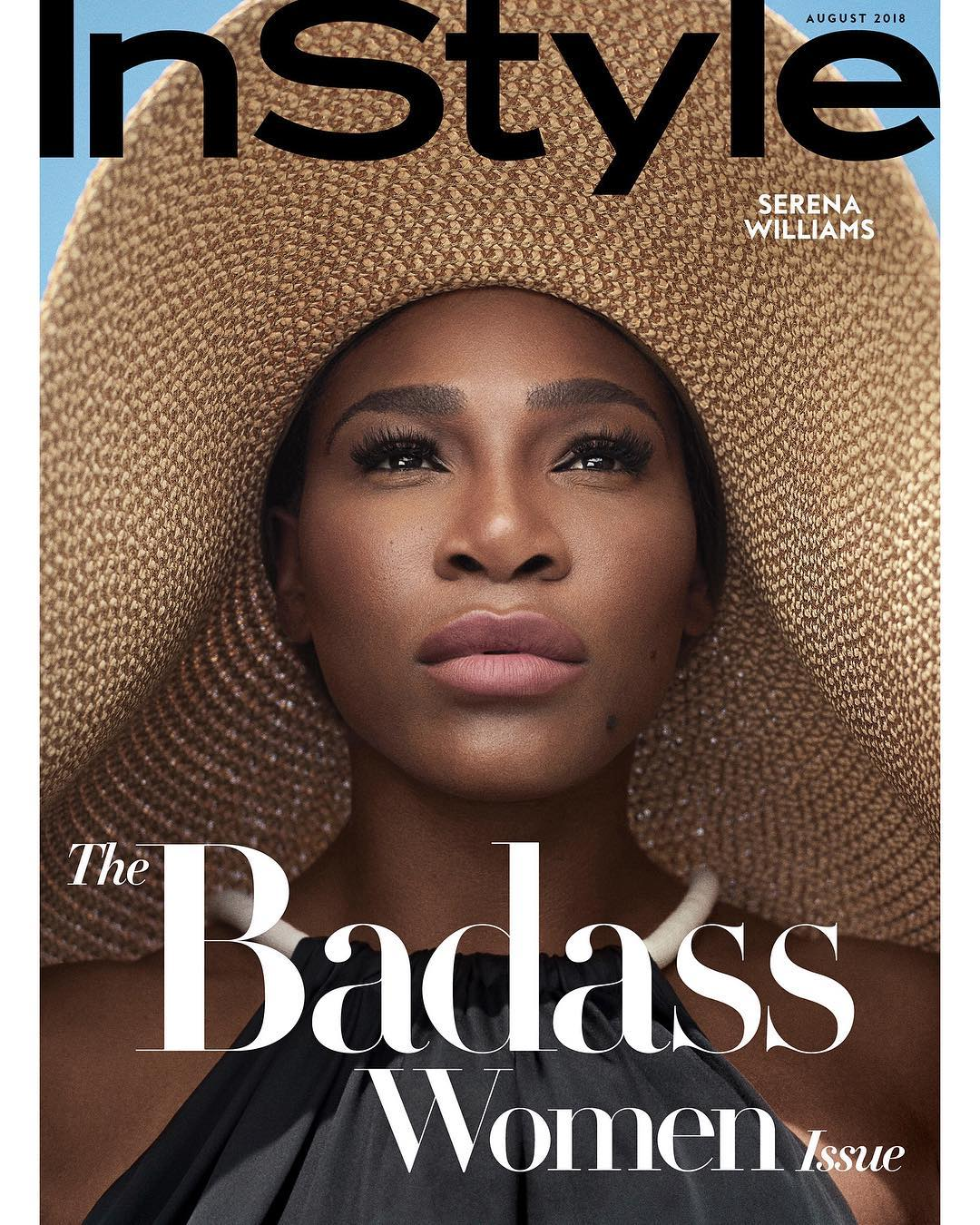 Serena Williams Covers First Badass Women Issue InStyle Magazine