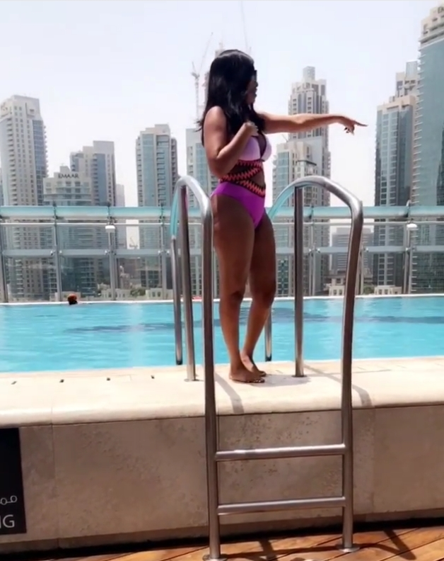 Onyii Alex Shows Off Her Curves In Swimwear (6)