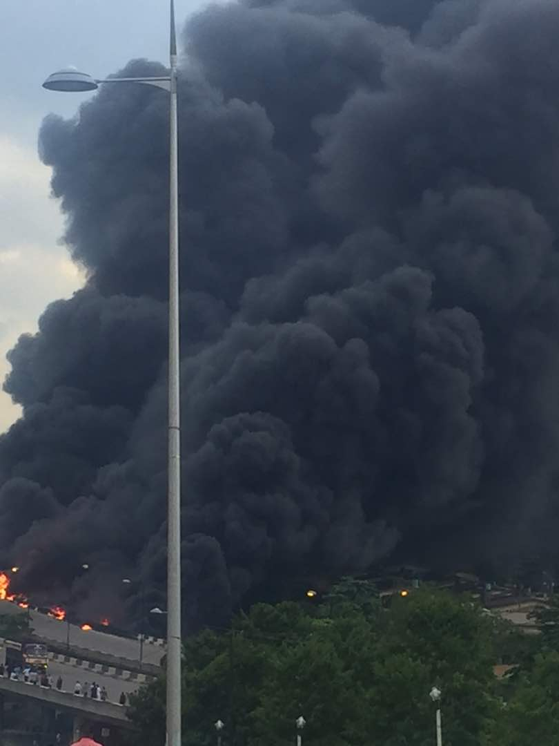 Otedola Bridge Fire (3)