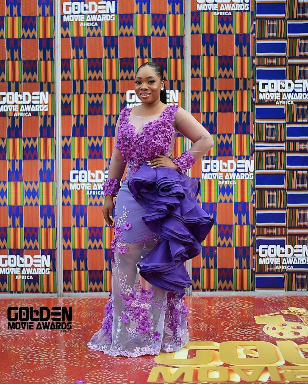 Moesha Boduong At 2018 Golden Movie Awards Africa (4)