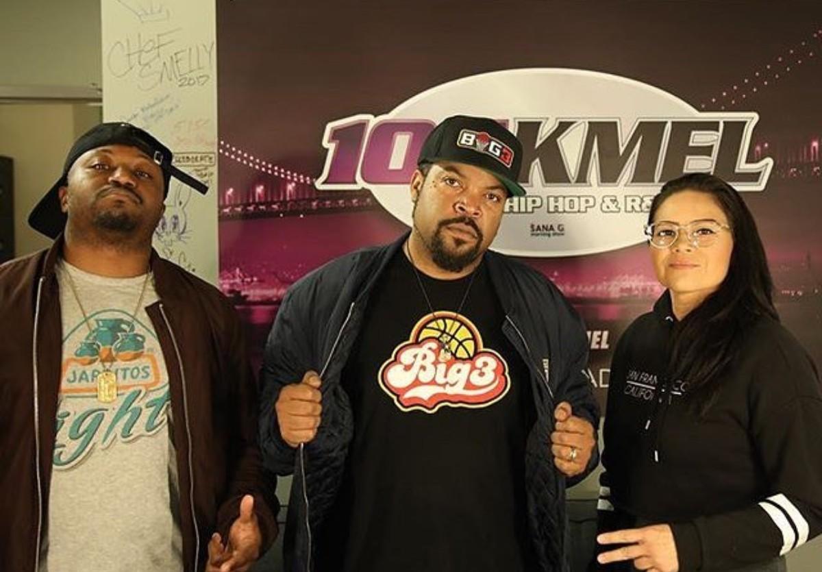 Ice Cube Sana G Morning Show (2)