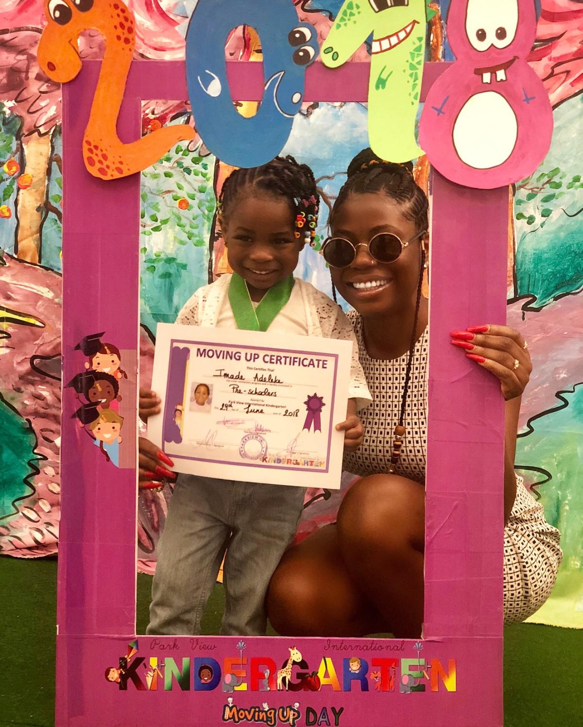 Sophia Momodu Celebrates As Daughter Graduates From Kindergarten