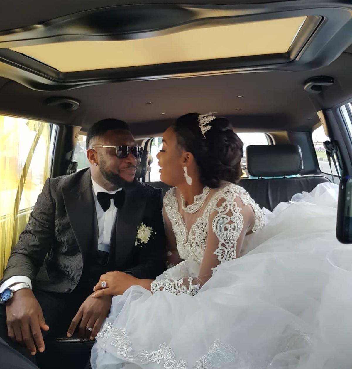 Tchidi Chikere And Nuella Njubigbo Wed In Church (4)