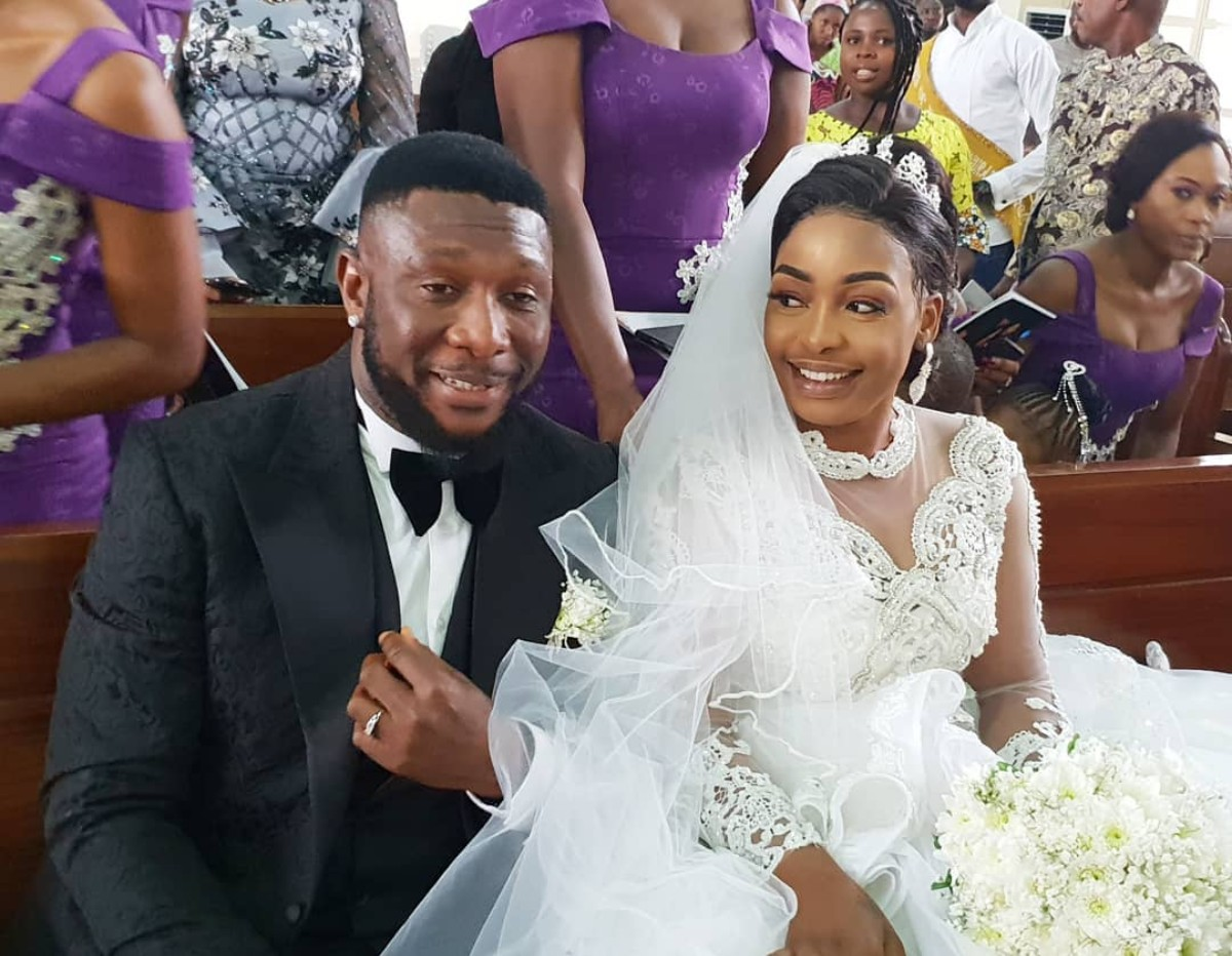 Tchidi Chikere And Nuella Njubigbo Wed In Church (5)