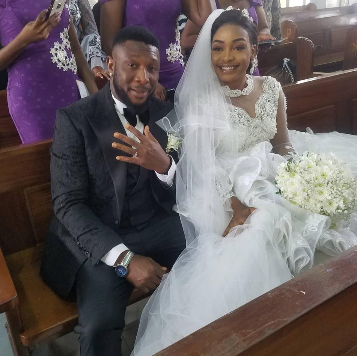 Tchidi Chikere And Nuella Njubigbo Wed In Church (6)