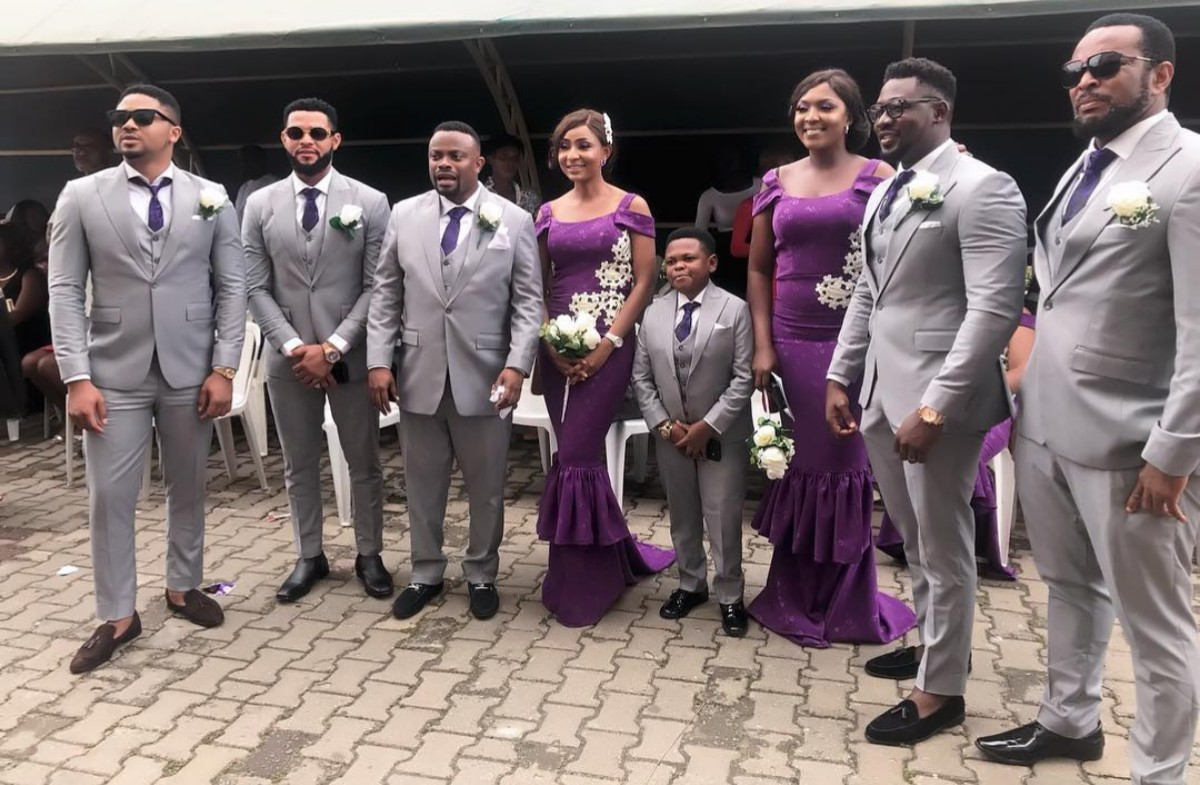 Tchidi Chikere And Nuella Njubigbo Wed In Church (8)