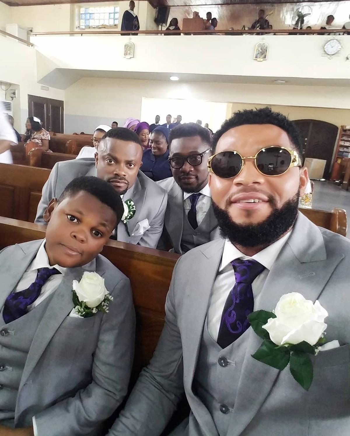 Tchidi Chikere And Nuella Njubigbo Wed In Church (10)