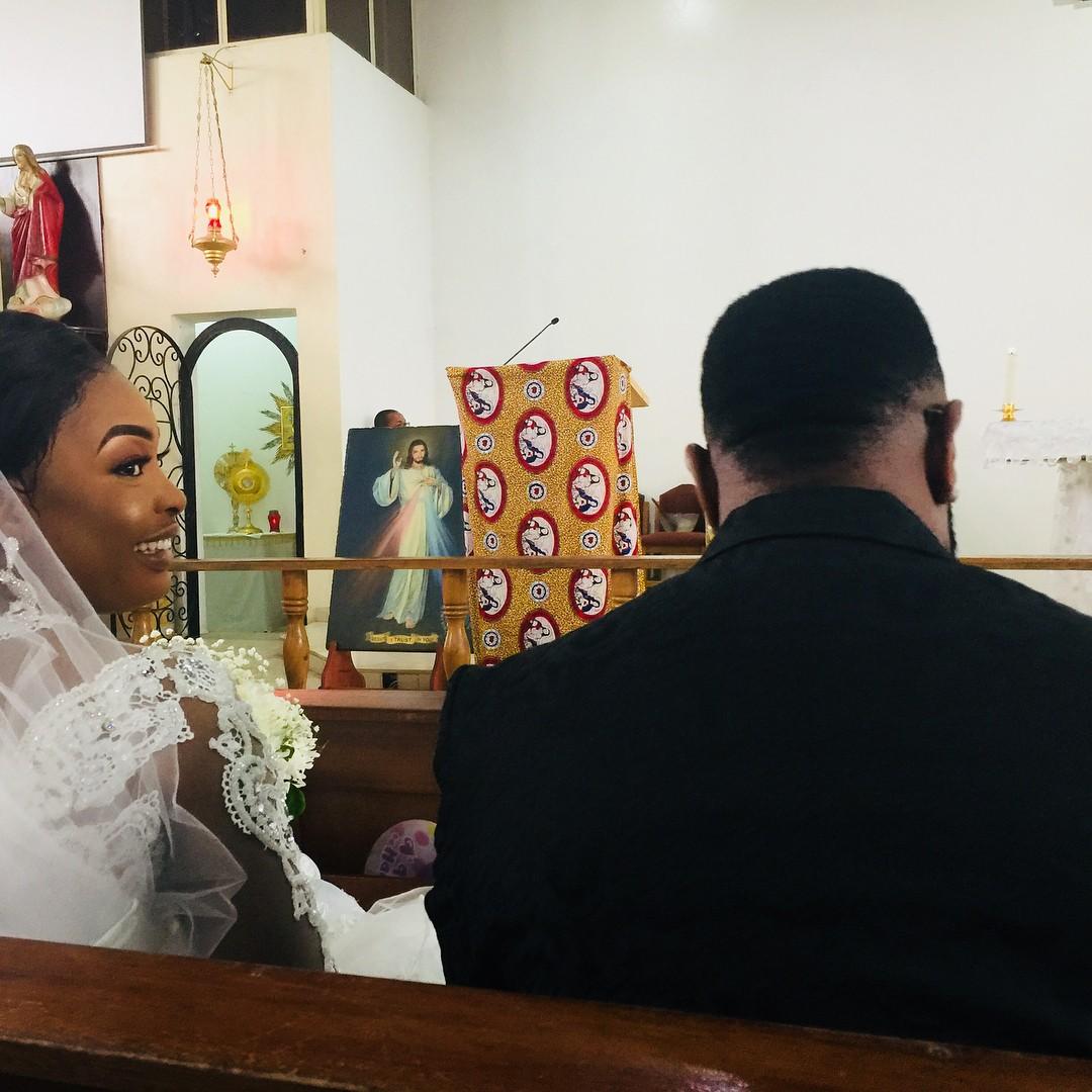 Nuella Njubigbo And Tchidi Chikere White Wedding (3)