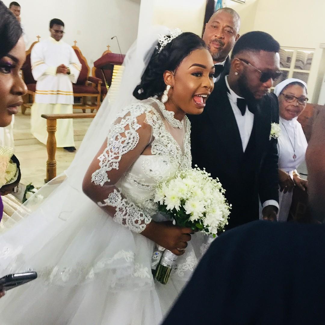 Nuella Njubigbo And Tchidi Chikere White Wedding (2)