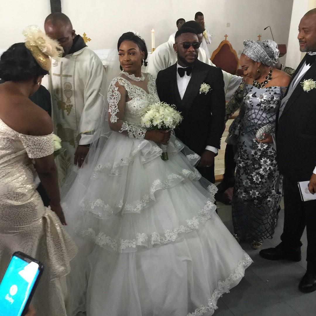 Nuella Njubigbo And Tchidi Chikere White Wedding (4)