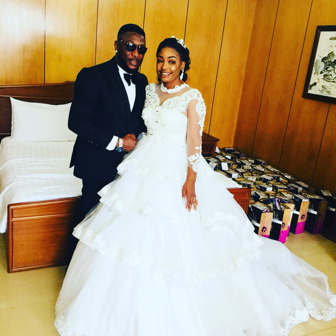 Nuella Njubigbo And Tchidi Chikere White Wedding (8)