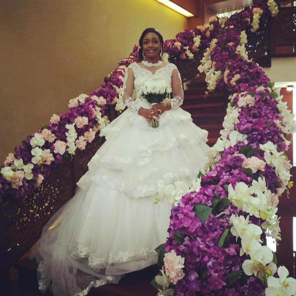 Nuella Njubigbo And Tchidi Chikere White Wedding (6)
