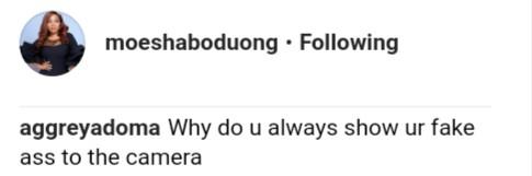 Fans Give Reason Why Moesha Boduong Can't Shaku (2)