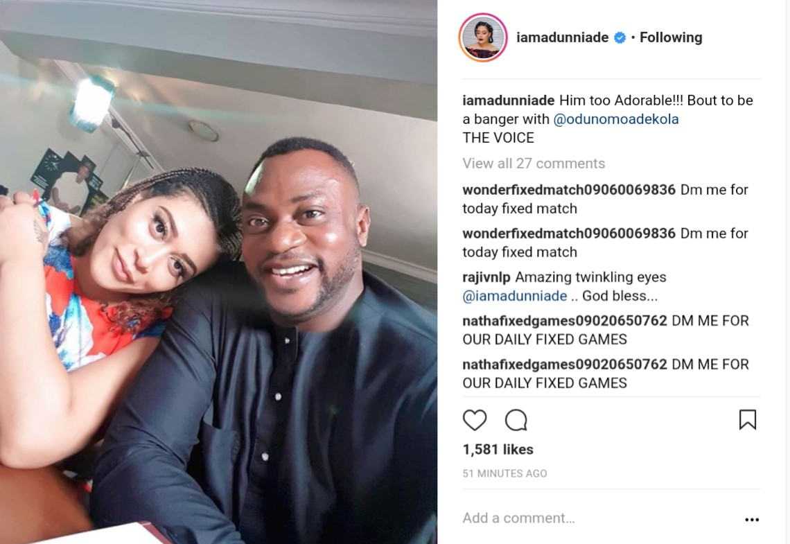 Adunni Ade Thinks She'll Be A Banger With Odunlade Adekola On The Voice (2)
