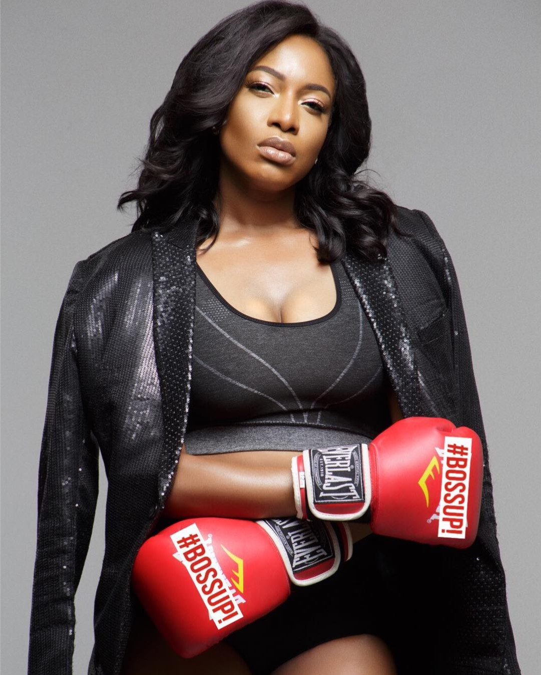 Chika Ike Transforms Into Sexy Boxer (2)