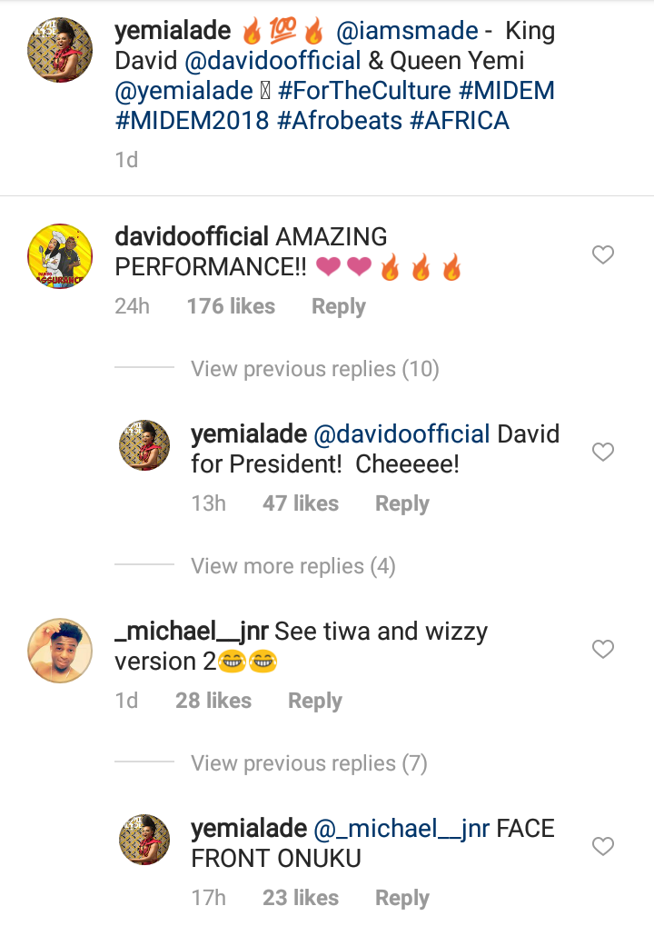 Yemi Alade Reacts After Man Saw Her Photo With Davido And Teased (2)