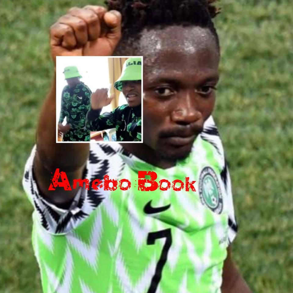 Ahmed Musa And Shehu Abdullahi Dance While Rocking Nigeria's World Cup Tracksuit