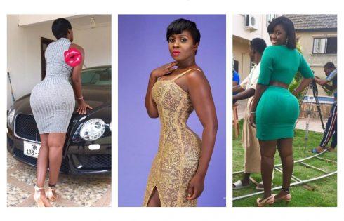 Kwasi Aboagye Squeezes Princess Shyngle's Butt