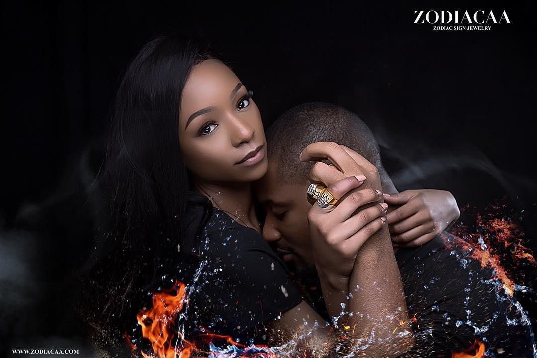 Alex Ekubo And Fancy Acholonu Steamy Shoot To Launch Jewelry Line (3)